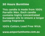Emporium Candle Jar - Lime Verbena  5