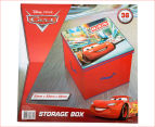 Cars 33x33cm Medium Toy Box - Red 6