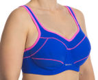 Triumph Tri-Action Performance Bra - Shocking Blue 2