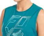 Fox Women's Whirlwind Roll Tank - Emerald  6