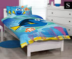 Finding Dory Single Bed Quilt Cover Set - Blue/Multi 1
