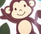 Tree & Sleeping Monkey Kids' Wall Decal 5