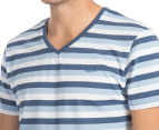 Mossimo Men's Standard Issue Aston V-Neck Tee - Washed Navy 6