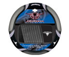 Sperling Steering Wheel Cover + 10-Disc Visor Set - Black/Grey 1