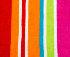 Velour 100x180cm Lines Beach Towel - Multi 4