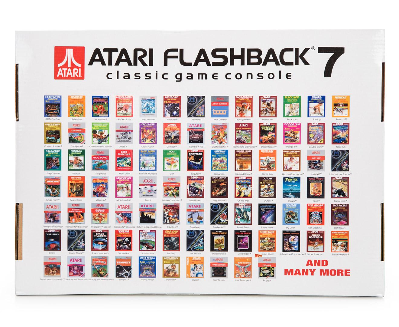 Atari Flashback 9 – AtGames E-Store