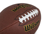 Wilson NFL Tackified Composite Leather Football - Brown 6