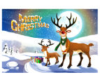 2 x Personalised Kids' 10x15cm Santa Postcards 4