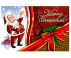 2 x Personalised Kids' 10x15cm Santa Postcards 5