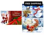 3 x Personalised Kids' 10x15cm Santa Postcards 1