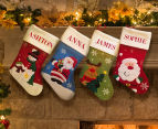 2 x Personalised Kids' Santa Stockings 4