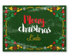 3 x Personalised Christmas 28x20cm Placemats 2
