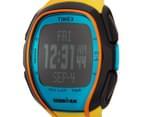Timex Sleek 150 Sports Watch - Yellow/Black/Blue 3