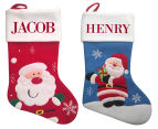 2 x Personalised Kids' Santa Stockings 1