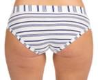 Jockey Comfort Classic Stripe Boyleg 2-Pack - Purple/White 5