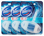 3 x Domestos 3-in-1 Toilet Block 40mL 1