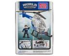 Mega Bloks World Builders NYPD Police Chopper 2