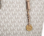 Michael Kors Jet Set Large Logo Tote Bag - Vanilla 4