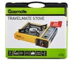Gasmate Travelmate Stove - Yellow/Black  5