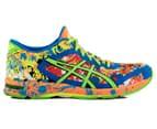 ASICS Men's GEL-Noosa Tri 11 Shoe - Hot Orange/Green Gecko/Electric Blue 1