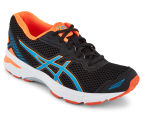 ASICS Grade-School Kids' GT-1000 5 Shoe - Black/Blue Jewel/Hot Orange 2