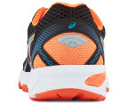 ASICS Grade-School Kids' GT-1000 5 Shoe - Black/Blue Jewel/Hot Orange 4