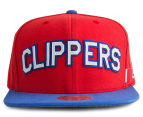 Mitchell & Ness Clippers Training Room Snapback - Red/Blue 1