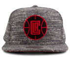 Mitchell & Ness Clippers Grey Noise Snapback - Multi 1
