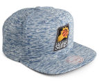 Mitchell & Ness Suns Against The Grain Snapback - Blue/White 2
