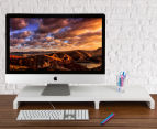 CUBICS 4730 Monitor Stand - White 1