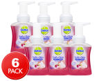 6 x Dettol Soft On Skin Rose & Cherry in Bloom Foam Handwash Pump 250mL 1