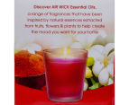 6 x Air Wick Natural Essential Oils Candle 100g - Oriental Elixir 6
