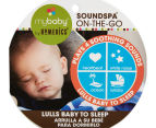 MyBaby By HoMedics SoundSpa On-The-Go Soother (Green and White) 6