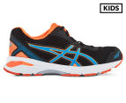 ASICS Grade-School Kids' GT-1000 5 Shoe - Black/Blue Jewel/Hot Orange 1