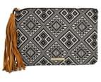 Cooper St Daylesford Tribal Pouch W/ Tassel - Black/White 1