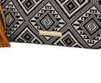 Cooper St Daylesford Tribal Pouch W/ Tassel - Black/White 5