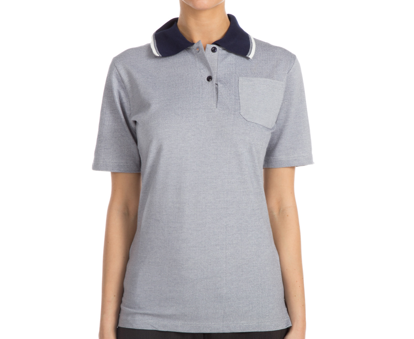 Totally Corporate Women 39 S Short Sleeve Polo Shirt Navy