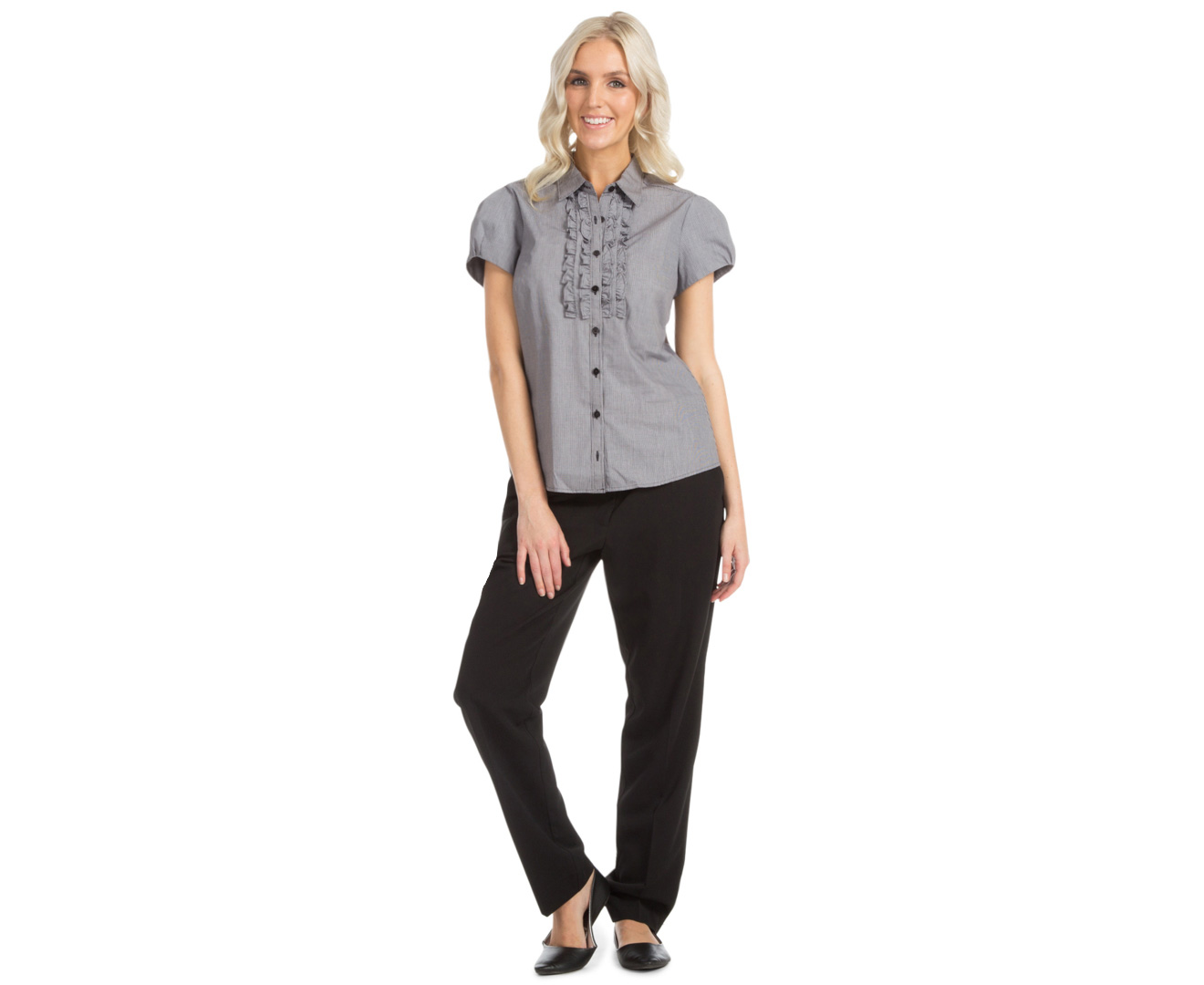 Cool  NEW Gray Dapple Womens Size 8 PleatFront WideLeg Pants  Walmartcom