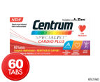 Centrum Specialist Cardio Plus 60 Tabs 1