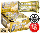 12 x Ratio Protein Bars Cake Batter 52g 1