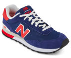New Balance Men's 515 Classic Sneaker - Navy/Red  2