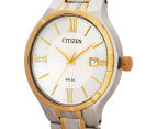 Citizen 38mm Brit BI502454A Dress Watch - White/Silver/Gold 3