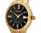 Citizen 38mm Brit BI502250E Dress Watch - Yellow Plated 3