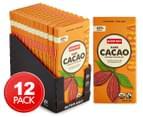 12 x Alter Eco Dark Cacao Chocolate Bars 80g 1