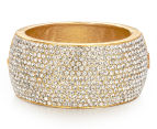 PeepToe Crystal Cuff - Gold 1