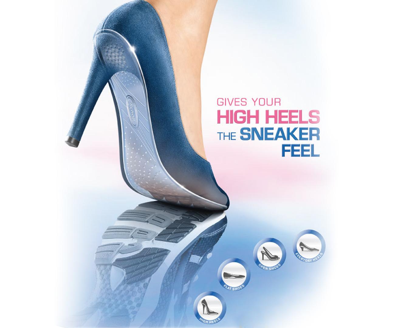 d3418e3e363 Scholl Women s AU 4-8 Gel Activ Everyday Heels Insole - 1 Pair ...