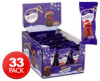 33 x Cadbury Dairy Milk Vanilla Mousse Snowman 30g 1
