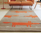 Scion Mr Fox 180x120cm Rug - Cinnamon 2