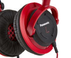 Panasonic RP-DJS150 Compact Street Headphones - Red  4