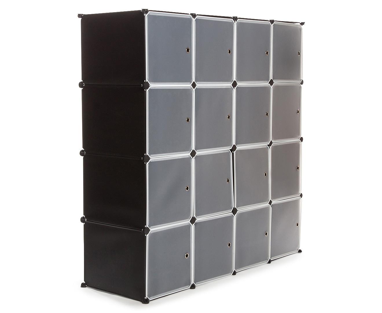 Modular 16 Compartment Storage Unit Black Great Daily  sc 1 st  Listitdallas & Daily Storage Units - Listitdallas
